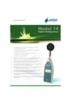 Pulsar Model 14 Digital Sound Level Meter - Datasheet (German)