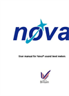 Pulsar Nova - Sound Level Meters User - Manual