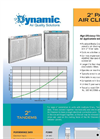 Dynamic - 2 Panel Air Cleaners - Brochure