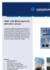 OMC-160 - Wind Speed and Direction Sensor – Datasheet