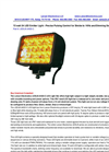 Larson Electronics - Model LEDLB-24SD-C - LED Light Bar - Datasheet