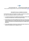 LED Light  Wire Harness Installation Instructions Manual
