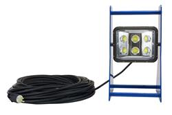 Larson Electronics - Model WAL-PM-WP60 - Portable LED Work Area Light - Waterproof - Aluminum Frame