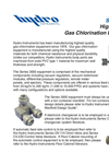 Series 3000 High Capacity Gas Chlorination Equipment Brochure