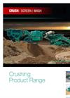 Powerscreen - 1000 - Maxtrak Cone Crusher Brochure
