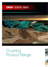Powerscreen - 1300 - Maxtrak Cone Crusher Brochure