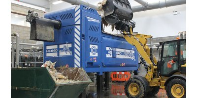 Cesaro - Model Tiger HS 640 - Food Waste Processing