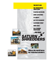Saturn Shredders Brochure