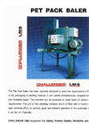 Challenger Pet Pack Baler - Brochure