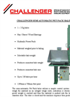 Challenger Semi Automatic Pet Baler - Brochure