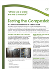 Information about the Bench Scale Composter- Brochure