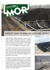 Compost Cover Tie-Down & Emission Control System