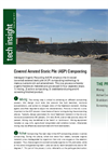 Tech Insight on Covered Aerated Static Pile (ASP) Composting
