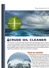 Crude Oil Cleaner Brochure