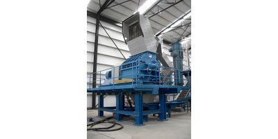 Recycling equipments for shredder light fraction (SLF) recycling