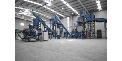Recycling equipments for refrigerator recycling
