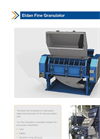 ELDAN - Fine Granulators Up to 4500 kg/h - Brochure