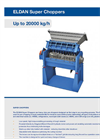 ELDAN - Super Choppers Up to 20000 kg/h - Brochure