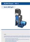 Eldan Rasper R400-3 Up to 400 kg/h - Brochure