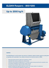 Eldan Rasper - Models R800 and R1200 - Brochure