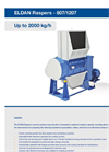 Eldan - Models 807/1207 - Rasper Up to 2000 kg/h - Brochure