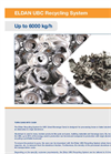 Eldan UBC Recycling Up to 40000 kg/h - Brochure