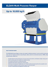 ELDAN - Multi Purpose Rasper Up to 10.000 kg/h - Brochure