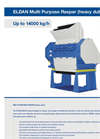 ELDAN - Multi Purpose Rasper (Heavy Duty) Up to 14000 kg/h - Brochure