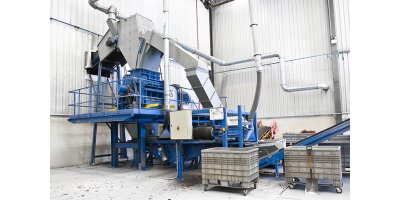 Eldan - Model S 1000 / S 1500 - Ring Shredder