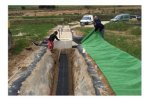 Water and wastewater for filter/ infiltration trenches