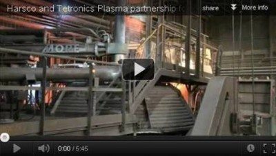 Harsco and Tetronics are global plasma partners, offering turnkey solutions to industrial waste recovery and recycling