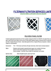 Pleated Panel Filter Brochure