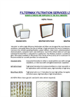 High Efficiency Particulate Air Filters Brochure