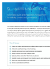 Automated Audit and Inspection Management Software Brochure