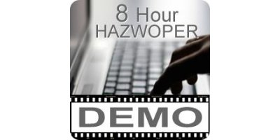 DEMO - 8 Hour OSHA HAZWOPER-Online Training