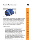 Quarter Turn Actuator Brochure