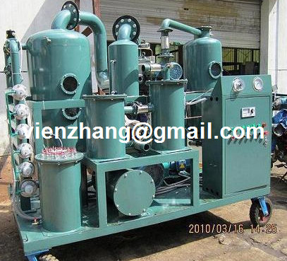 Series TYA Lubricating oil/ hydraulic oil purification unit