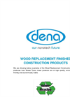 Wood Replacement Finished Construction Unit - Brochure