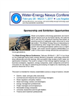 Water-Energy Nexus 2017 - Exhibition & Sponsorship Information