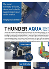 Addfield - Model Thunder 500 - Aquaculture Waste Incinerator (500Kg) - Full Specification Sheet
