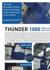 Addfield - Model Thunder 1000 - Aquaculture Waste Incinerator (1000Kg) - Full Specification Sheet
