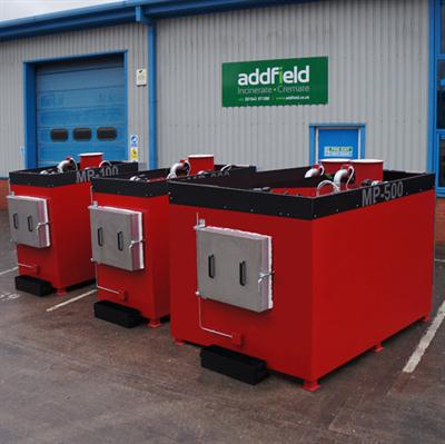 Addfield - Model MP-500 - Pathological Waste Incinerator (500 Kg)