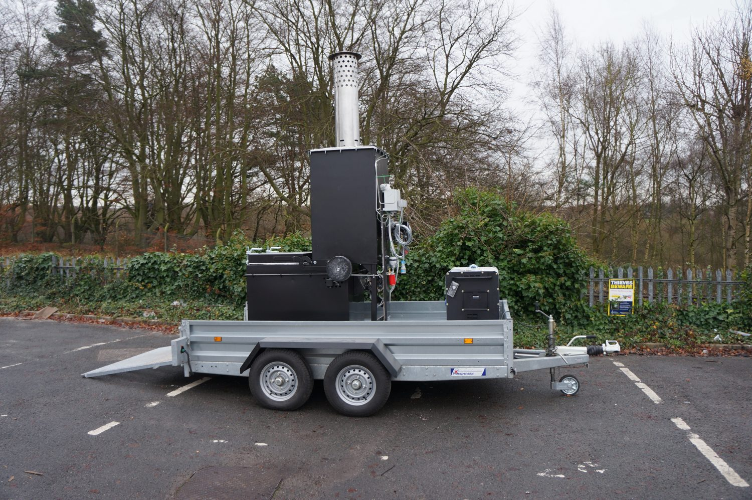 Addfield - Small Trailer Mounted Mobile Incinerator