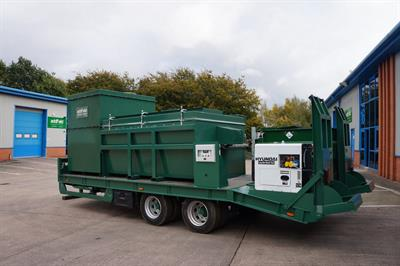 Large Trailer Mounted Mobile Incinerators-3