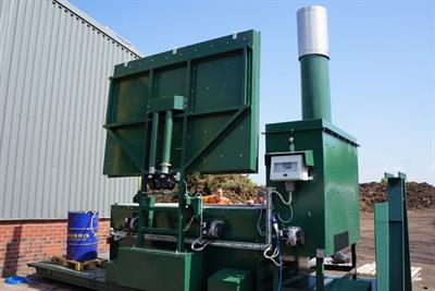 Heavy Duty Skid Mounted Mobile Incinerator-1