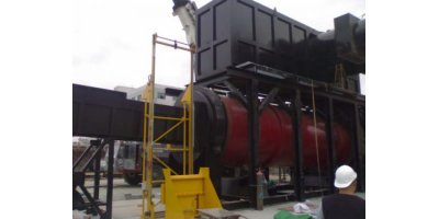 Addfield - Model R1200 - Rotary Furnace Incineration Machine(1200Kg)