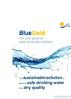 BlueGold - Solar Water Treatment Modules Brochure