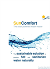 SunComfort - Solar Water Treatment Modules Brochure