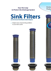 EPAS - Sink Filters and Universal Sink Waste Outlet Adaptor - Brochure