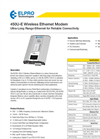 ELPRO - 450U-E - Wireless Ethernet Modem Datasheet